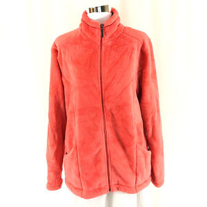 White Sierra Womens Fleece Jacket Full Zip Cozy L